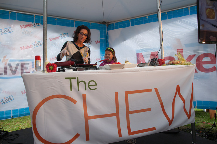 Carla Hall of The Chew